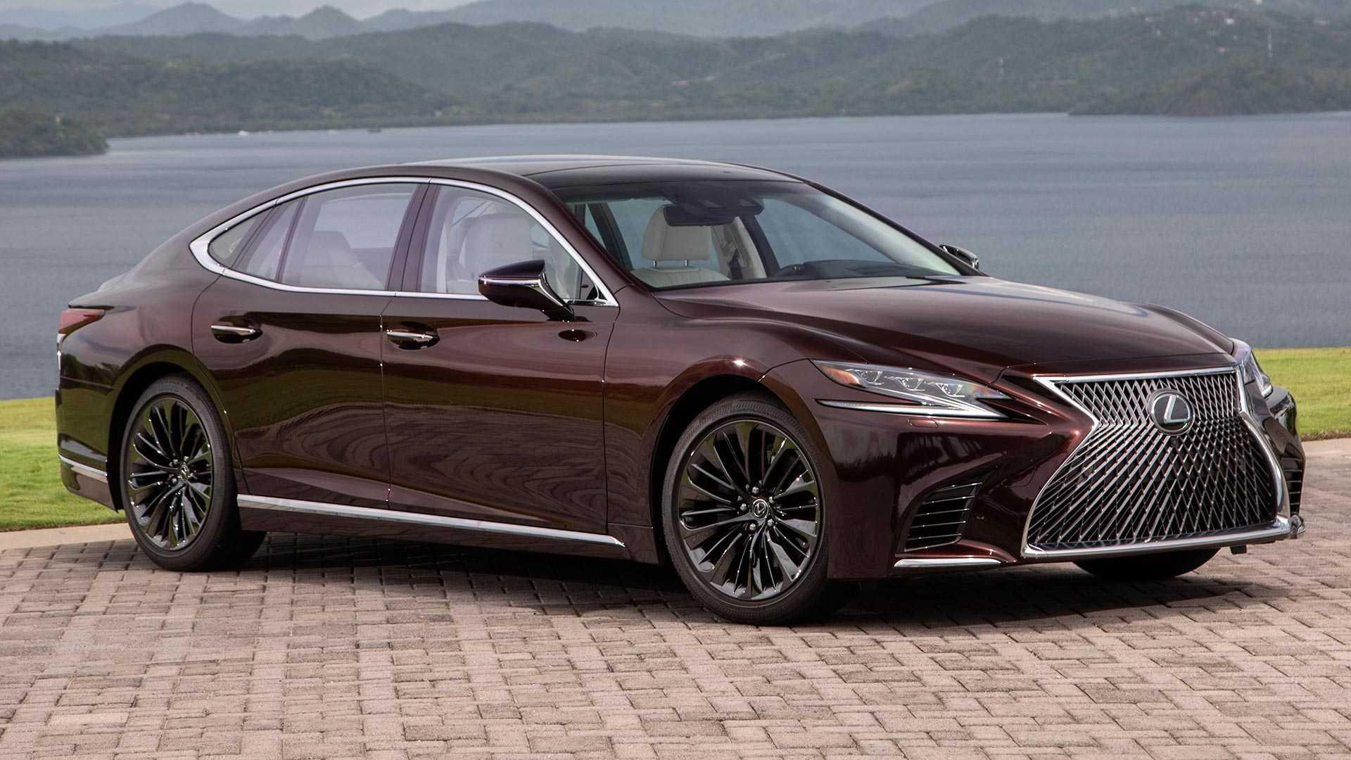 2020 Lexus LS 500 Inspiration Series Front Three-Quarter Wallpapers (2)