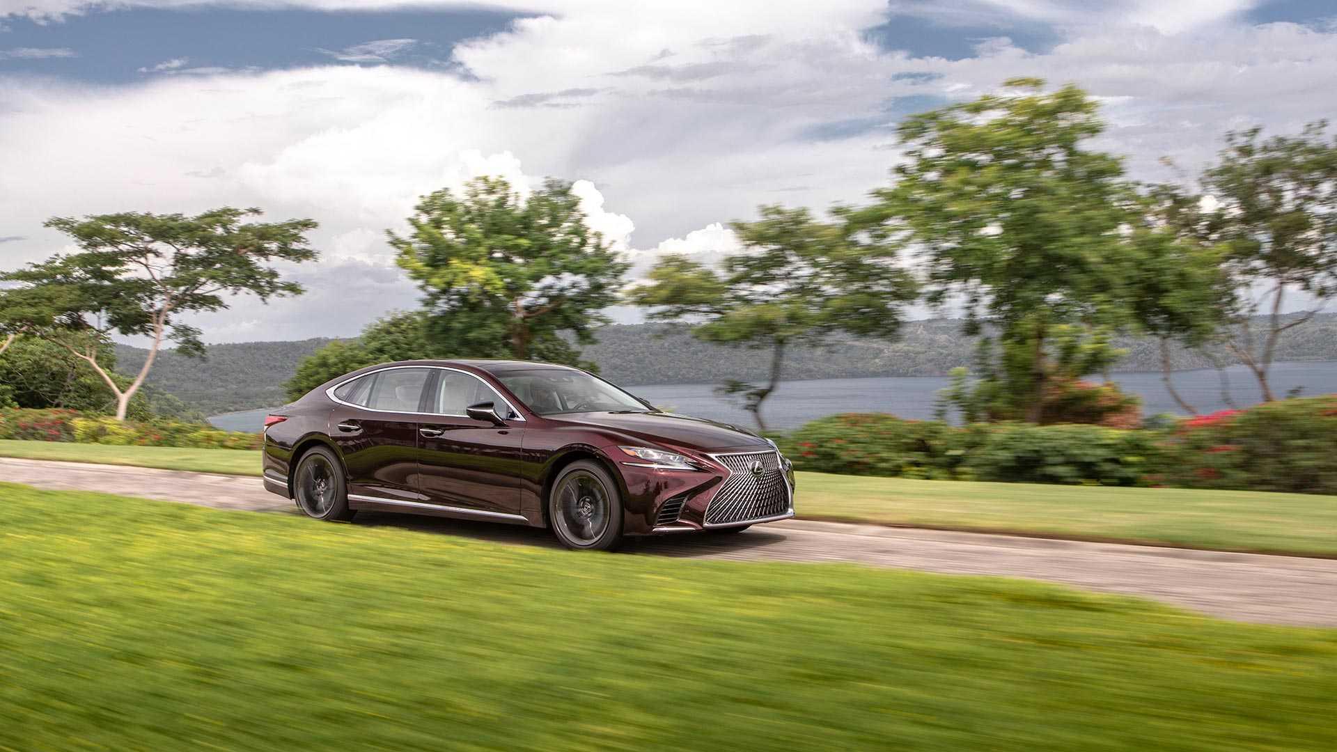 2020 Lexus LS 500 Inspiration Series Front Three-Quarter Wallpapers (1)