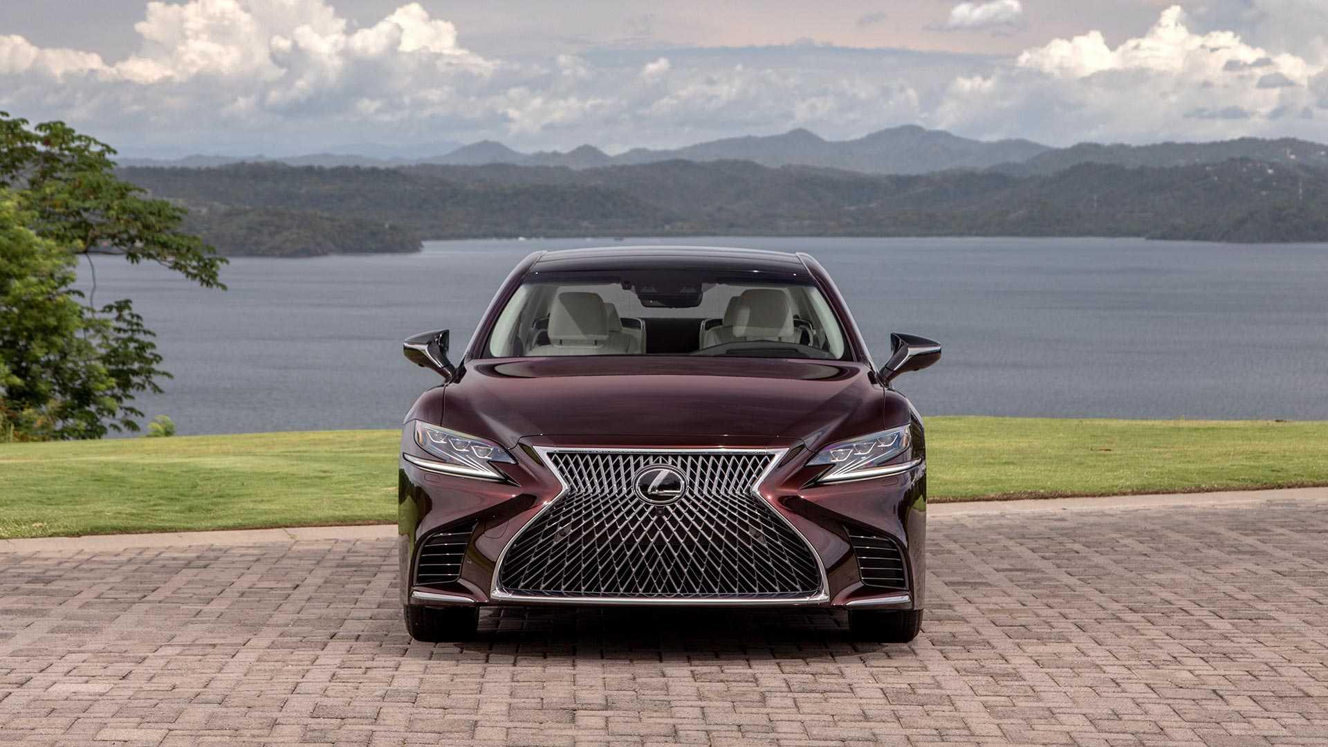 2020 Lexus LS 500 Inspiration Series Front Wallpapers (3)