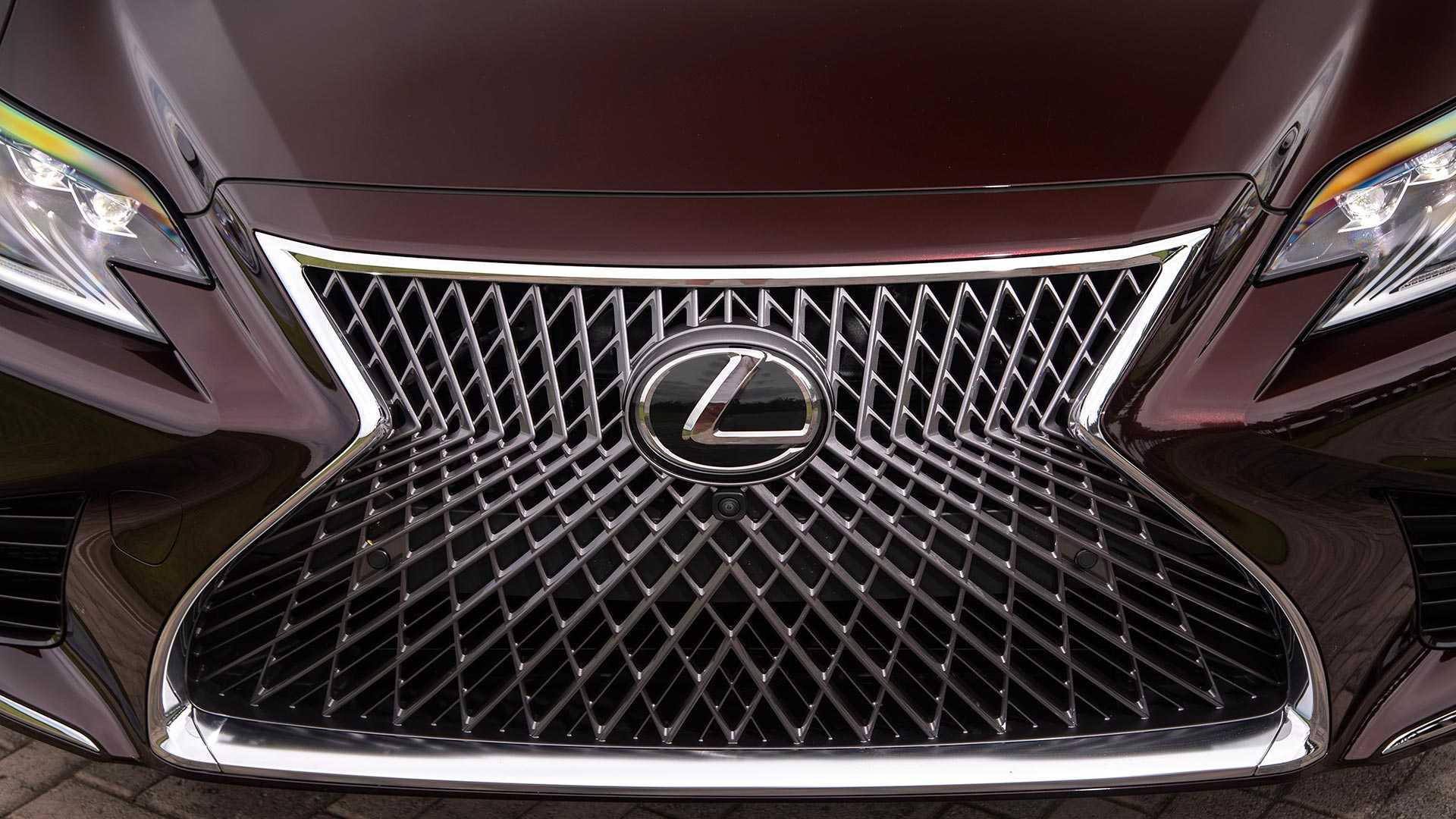 2020 Lexus LS 500 Inspiration Series Grill Wallpapers (9)
