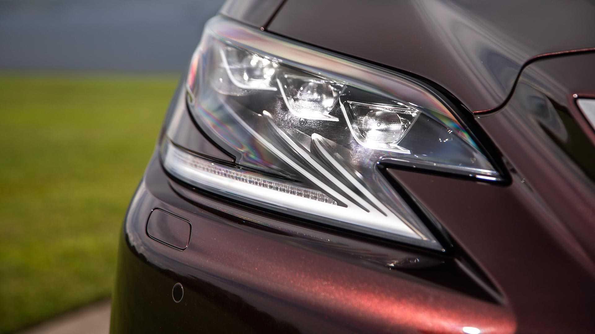 2020 Lexus LS 500 Inspiration Series Headlight Wallpapers (8)