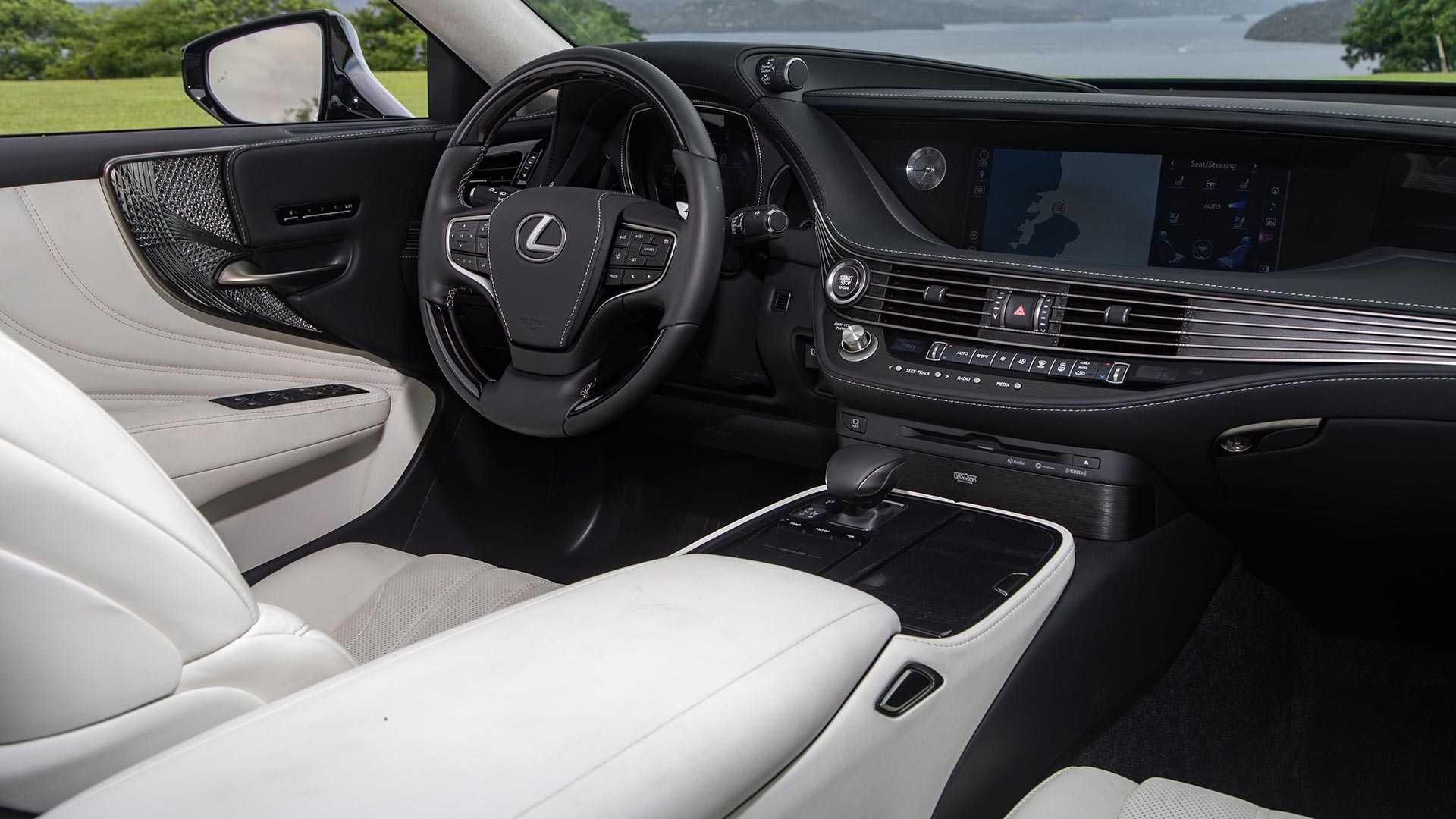2020 Lexus LS 500 Inspiration Series Interior Wallpapers (11)