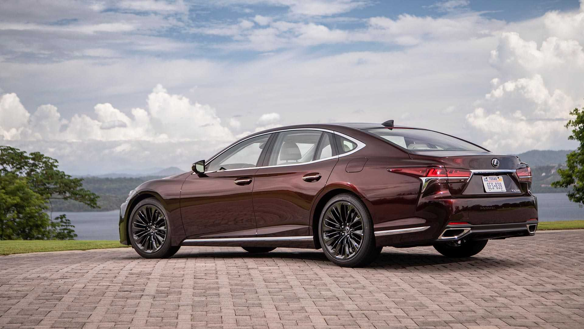 2020 Lexus LS 500 Inspiration Series Rear Three-Quarter Wallpapers (4)