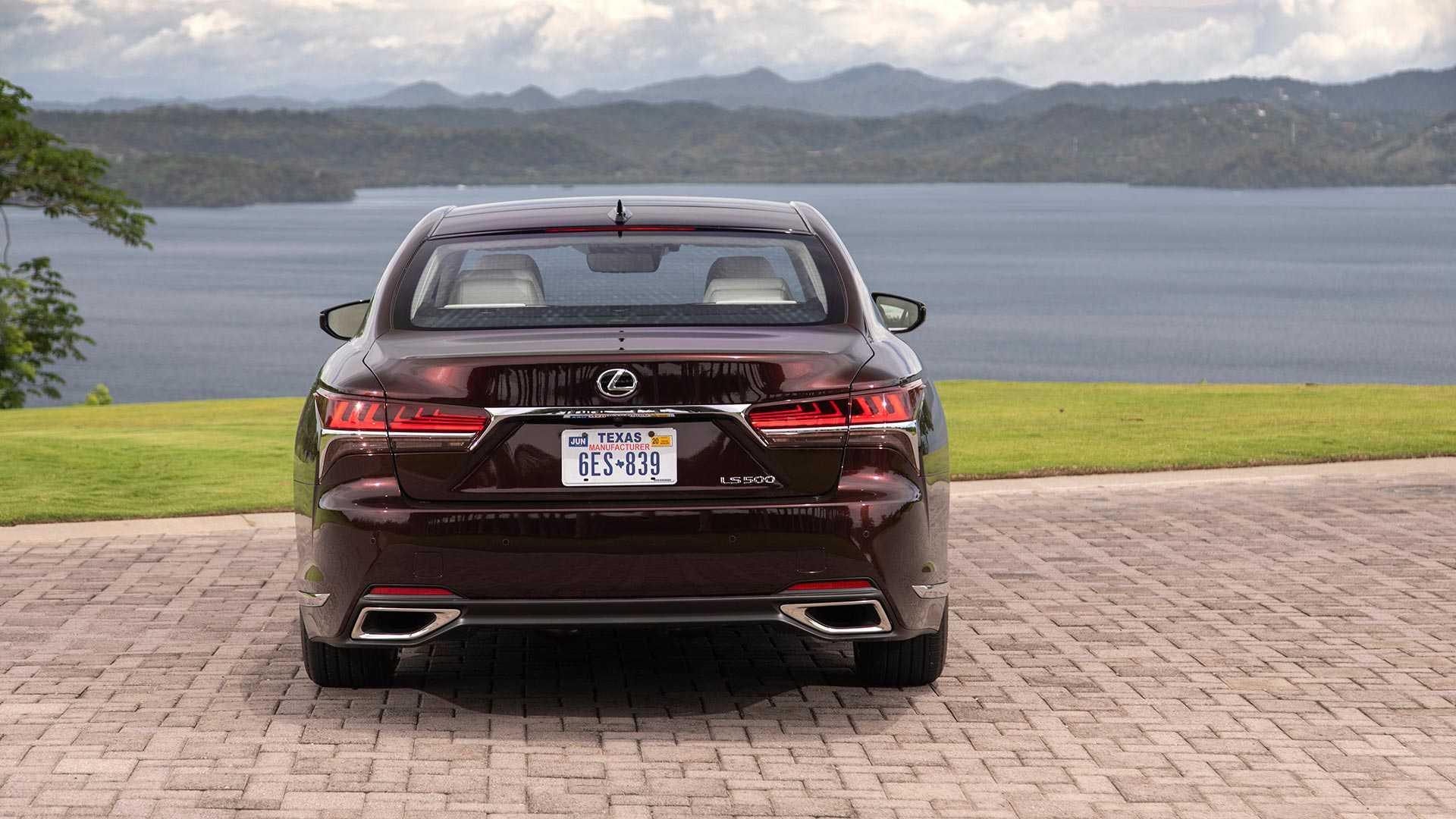 2020 Lexus LS 500 Inspiration Series Rear Wallpapers (5)