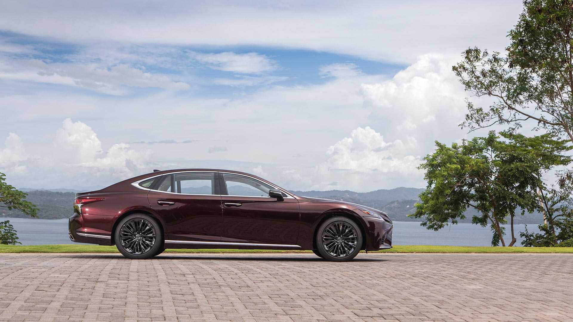2020 Lexus LS 500 Inspiration Series Side Wallpapers (6)