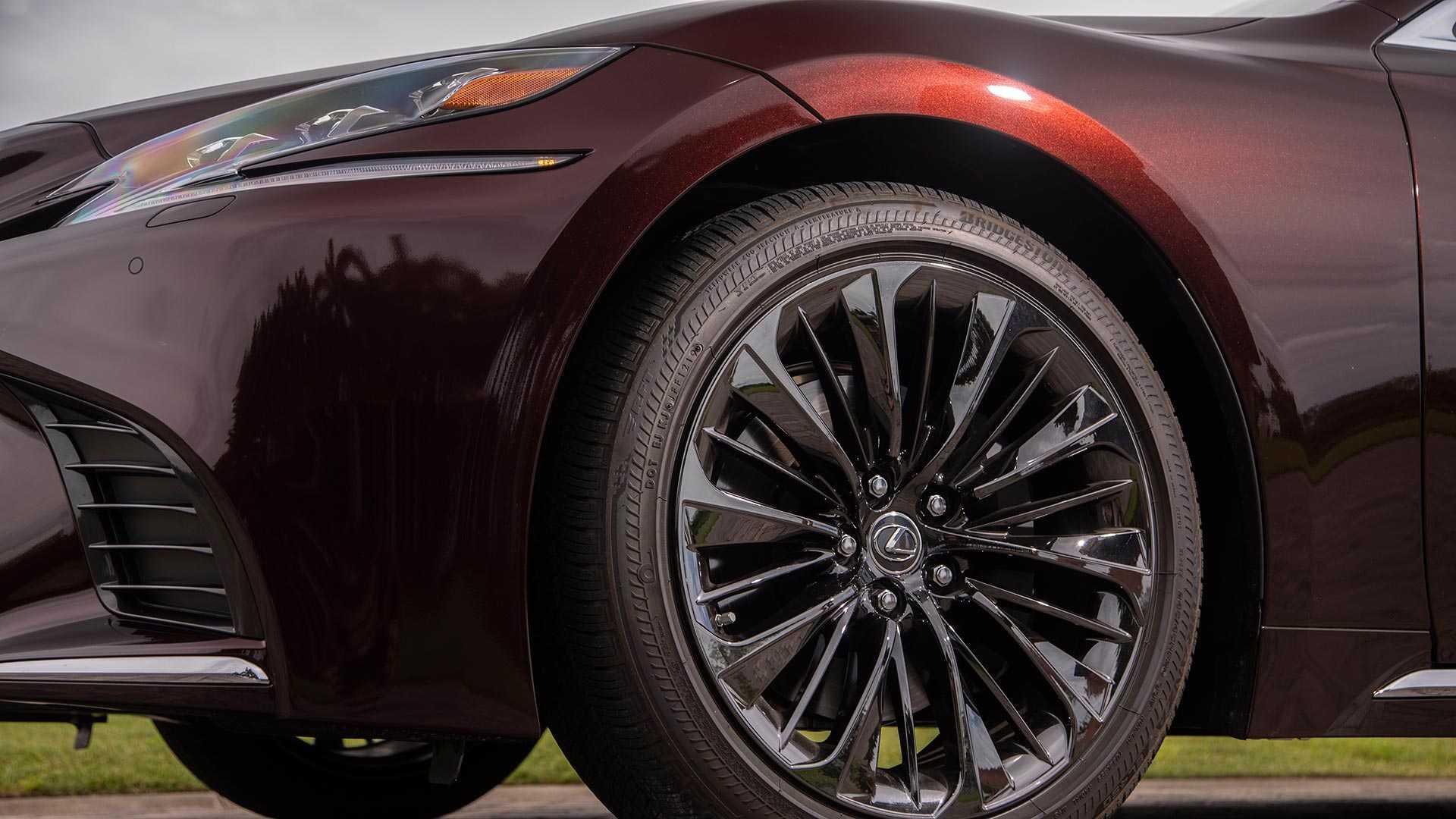 2020 Lexus LS 500 Inspiration Series Wheel Wallpapers (7)