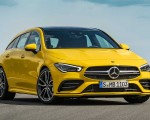 2020 Mercedes-AMG CLA 35 4MATIC Shooting Brake Front Three-Quarter Wallpapers 150x120 (11)