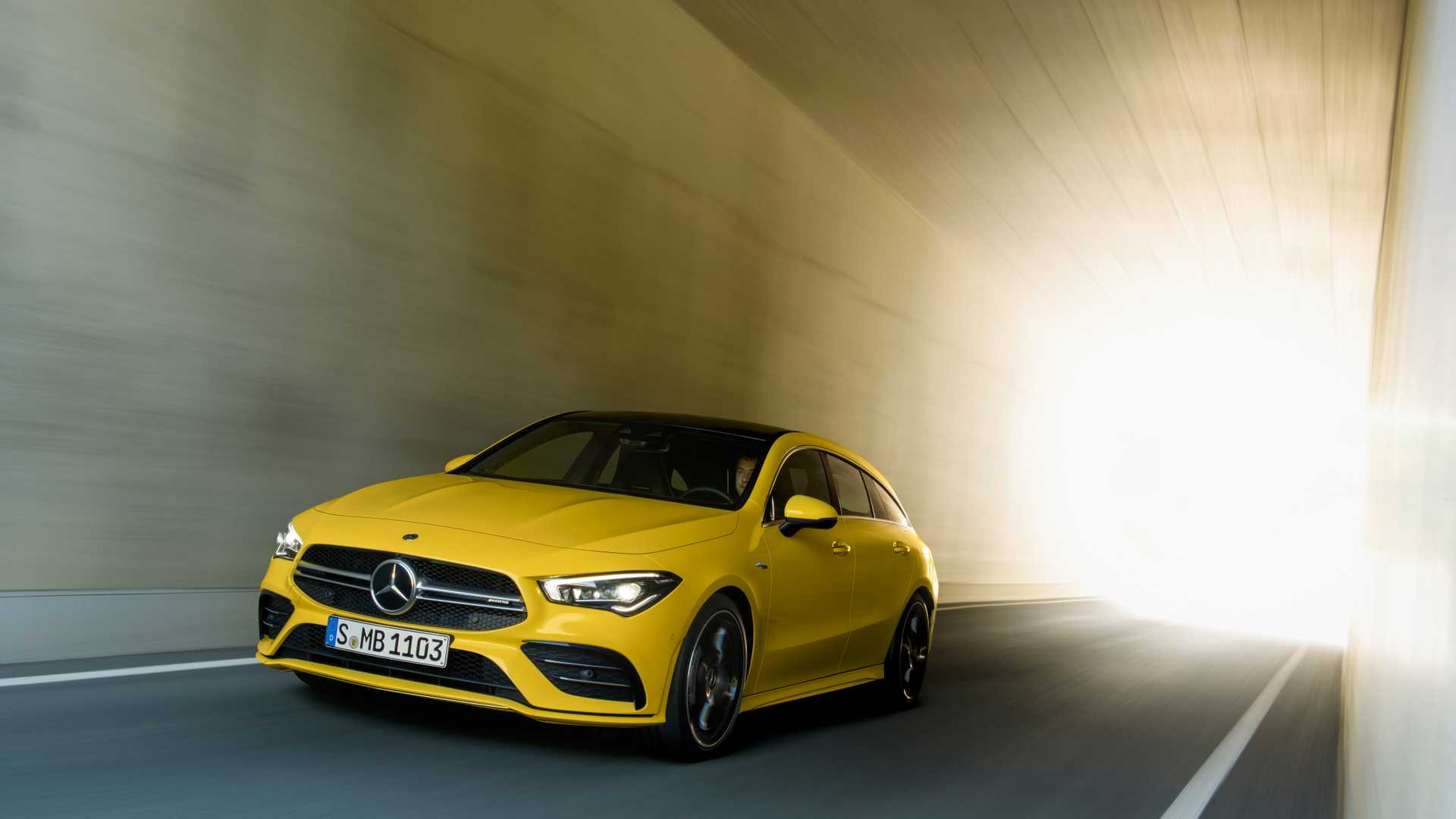 2020 Mercedes-AMG CLA 35 4MATIC Shooting Brake Front Three-Quarter Wallpapers (3)