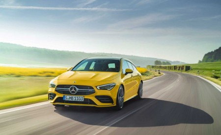 2020 Mercedes-AMG CLA 35 Shooting Brake Wallpapers HD