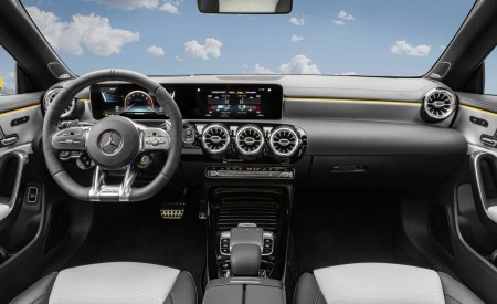 2020 Mercedes-AMG CLA 35 4MATIC Shooting Brake Interior Cockpit Wallpapers 450x275 (21)