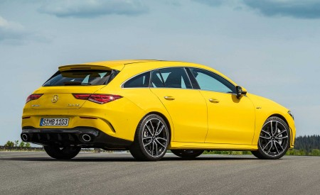 2020 Mercedes-AMG CLA 35 4MATIC Shooting Brake Rear Three-Quarter Wallpapers 450x275 (14)