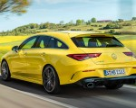 2020 Mercedes-AMG CLA 35 4MATIC Shooting Brake Rear Three-Quarter Wallpapers 150x120 (7)