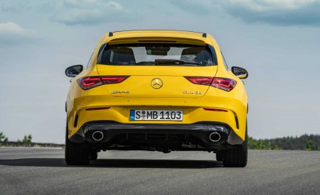 2020 Mercedes-AMG CLA 35 4MATIC Shooting Brake Rear Wallpapers 450x275 (15)