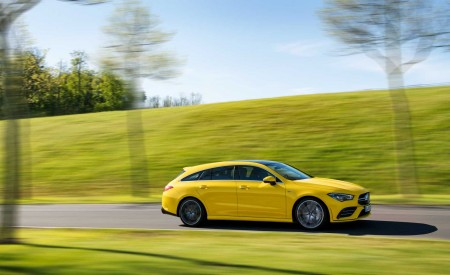 2020 Mercedes-AMG CLA 35 4MATIC Shooting Brake Side Wallpapers 450x275 (9)