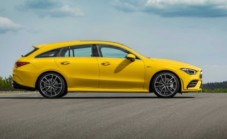 2020 Mercedes-AMG CLA 35 4MATIC Shooting Brake Side Wallpapers 450x275 (16)
