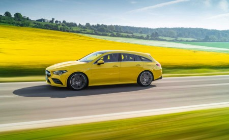 2020 Mercedes-AMG CLA 35 4MATIC Shooting Brake Side Wallpapers 450x275 (10)