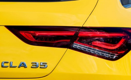 2020 Mercedes-AMG CLA 35 4MATIC Shooting Brake Tail Light Wallpapers 450x275 (18)