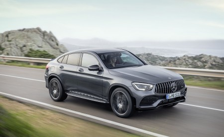 2020 Mercedes-AMG GLC 43 Coupe Wallpapers HD