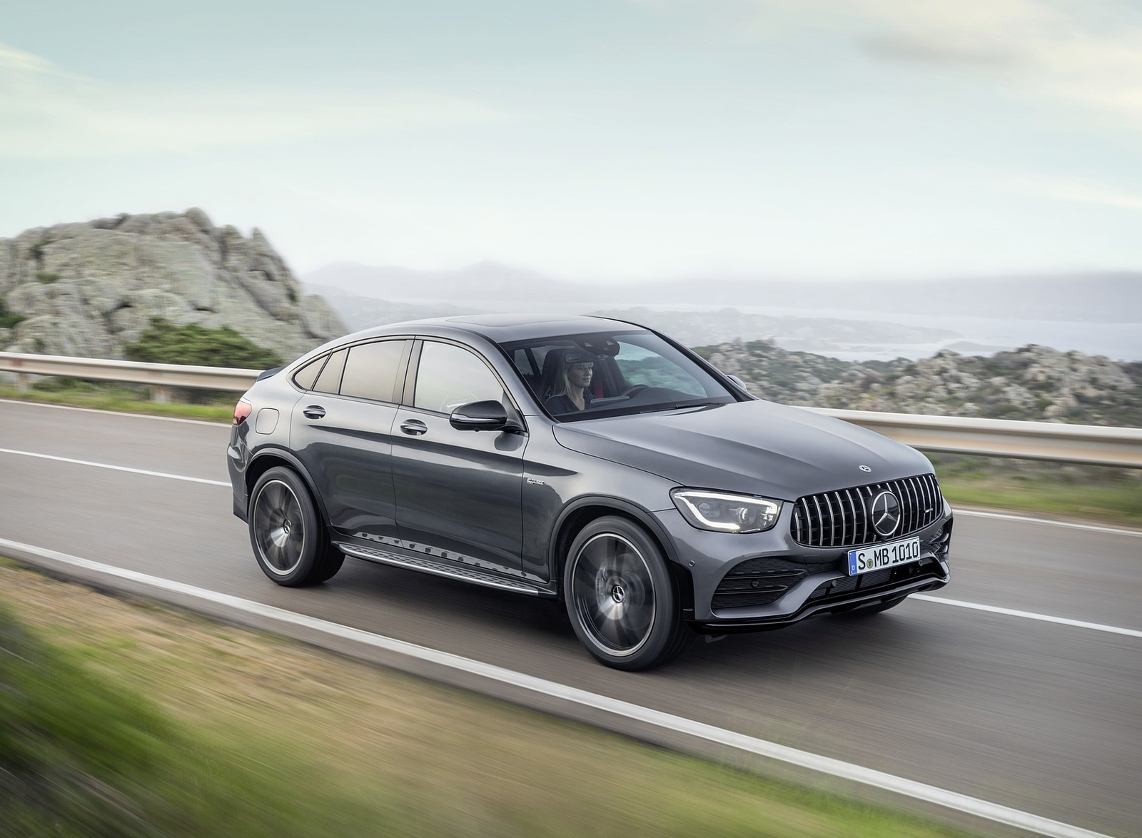 2020 Mercedes-AMG GLC 43 4MATIC Coupe Front Three-Quarter Wallpapers (1)