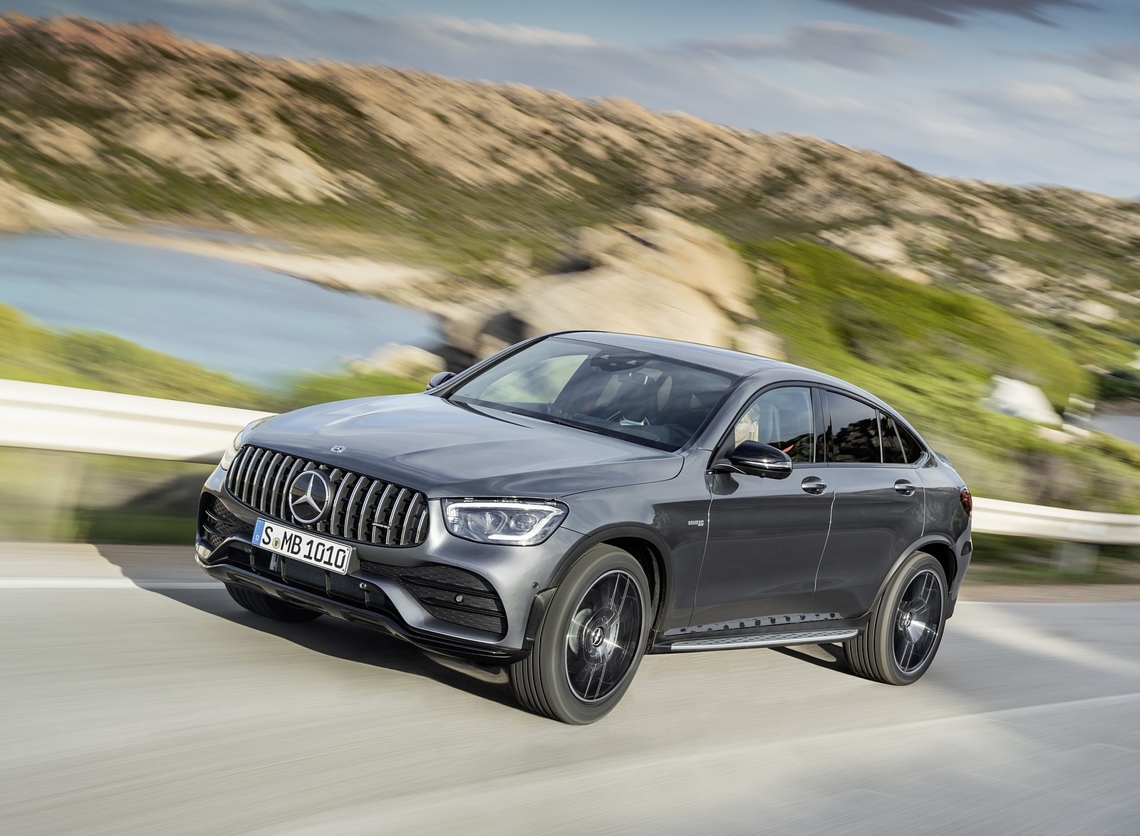 2020 Mercedes-AMG GLC 43 4MATIC Coupe Front Three-Quarter Wallpapers (2)