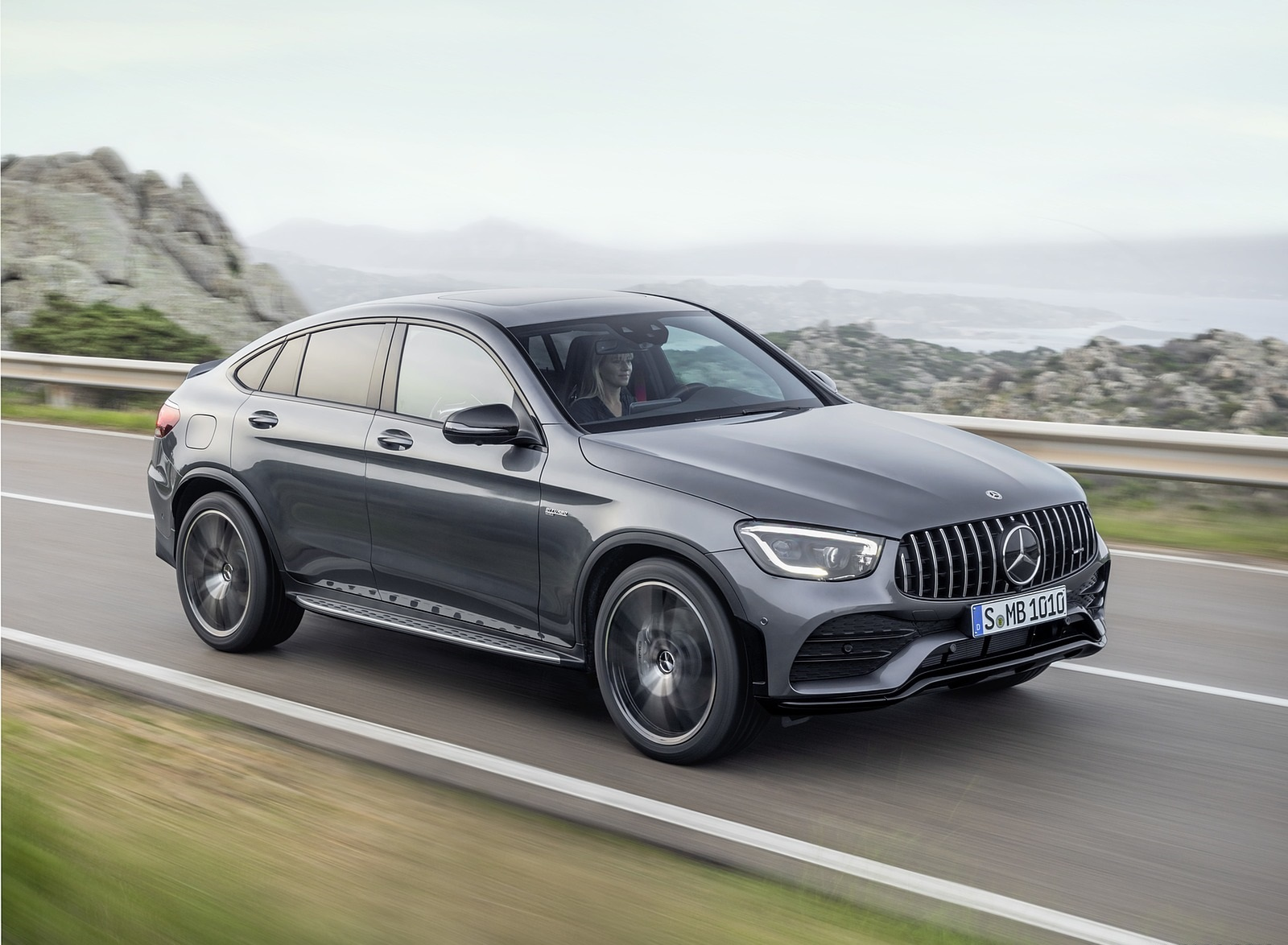 2020 Mercedes-AMG GLC 43 4MATIC Coupe Front Three-Quarter Wallpapers (3)