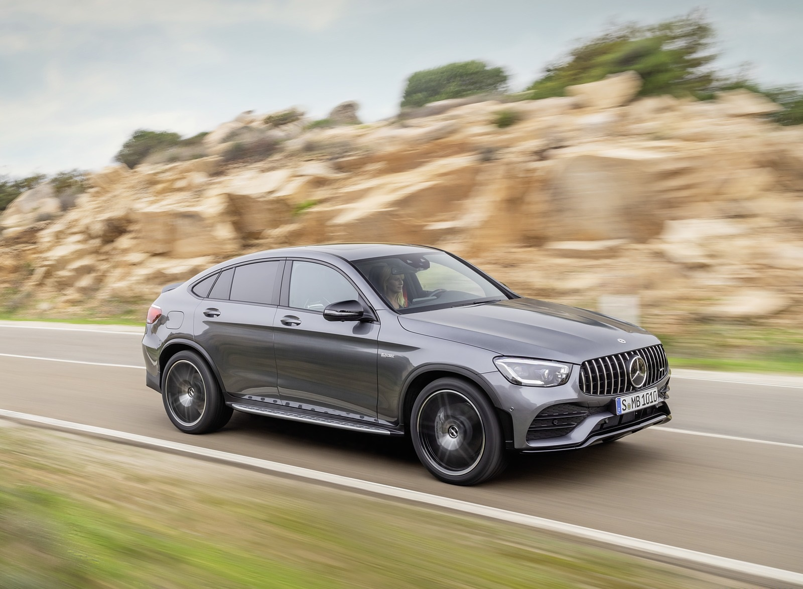 2020 Mercedes-AMG GLC 43 4MATIC Coupe Front Three-Quarter Wallpapers (4)