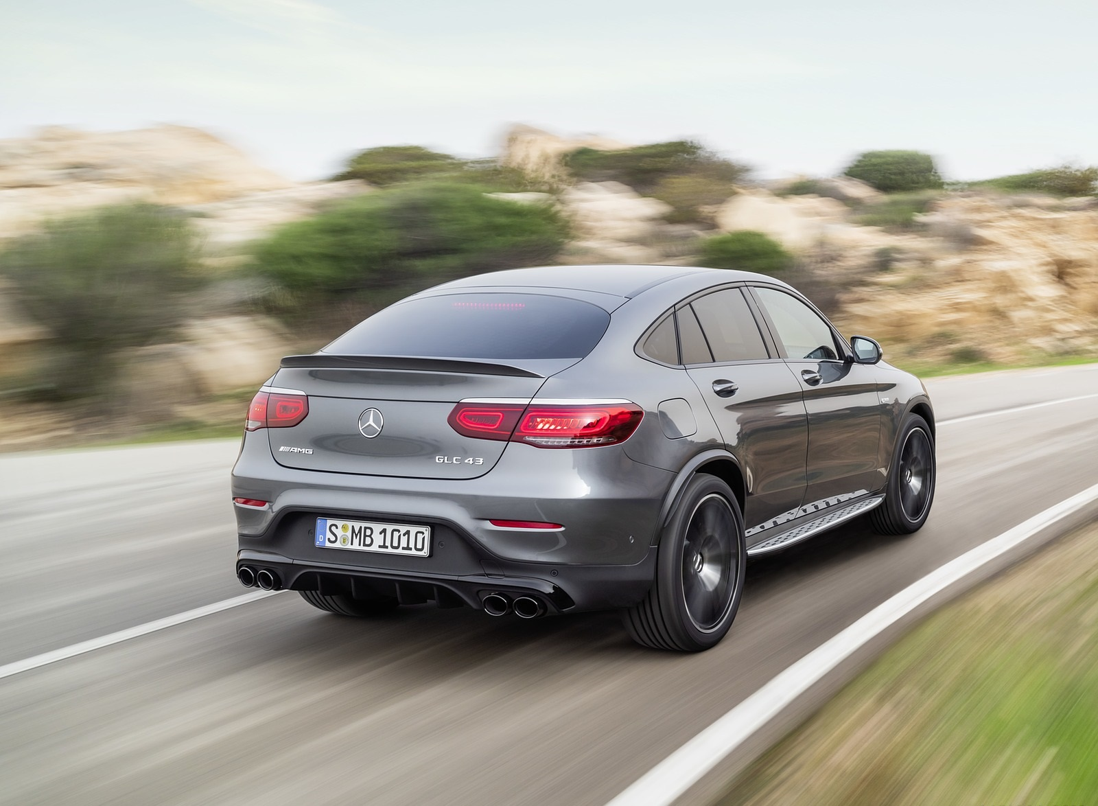 2020 Mercedes-AMG GLC 43 4MATIC Coupe Rear Three-Quarter Wallpapers (5)