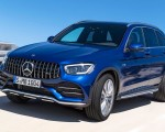 2020 Mercedes-AMG GLC 43 4MATIC Front Three-Quarter Wallpapers 150x120 (6)