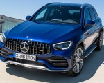 2020 Mercedes-AMG GLC 43 4MATIC Front Three-Quarter Wallpapers 150x120 (5)