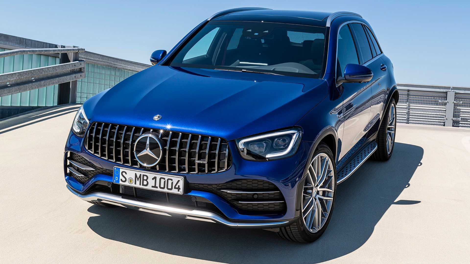 2020 Mercedes-AMG GLC 43 4MATIC Front Three-Quarter Wallpapers (5)