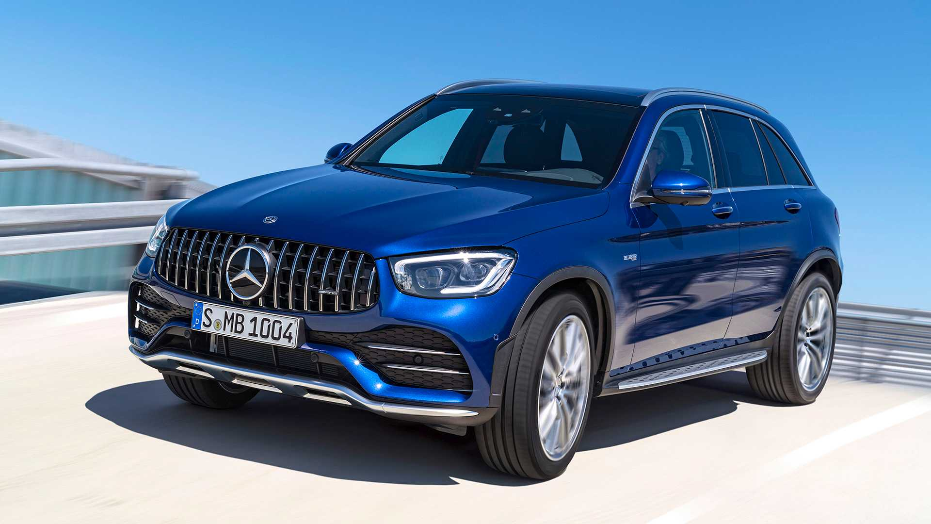 2020 Mercedes-AMG GLC 43 4MATIC Front Three-Quarter Wallpapers (6)