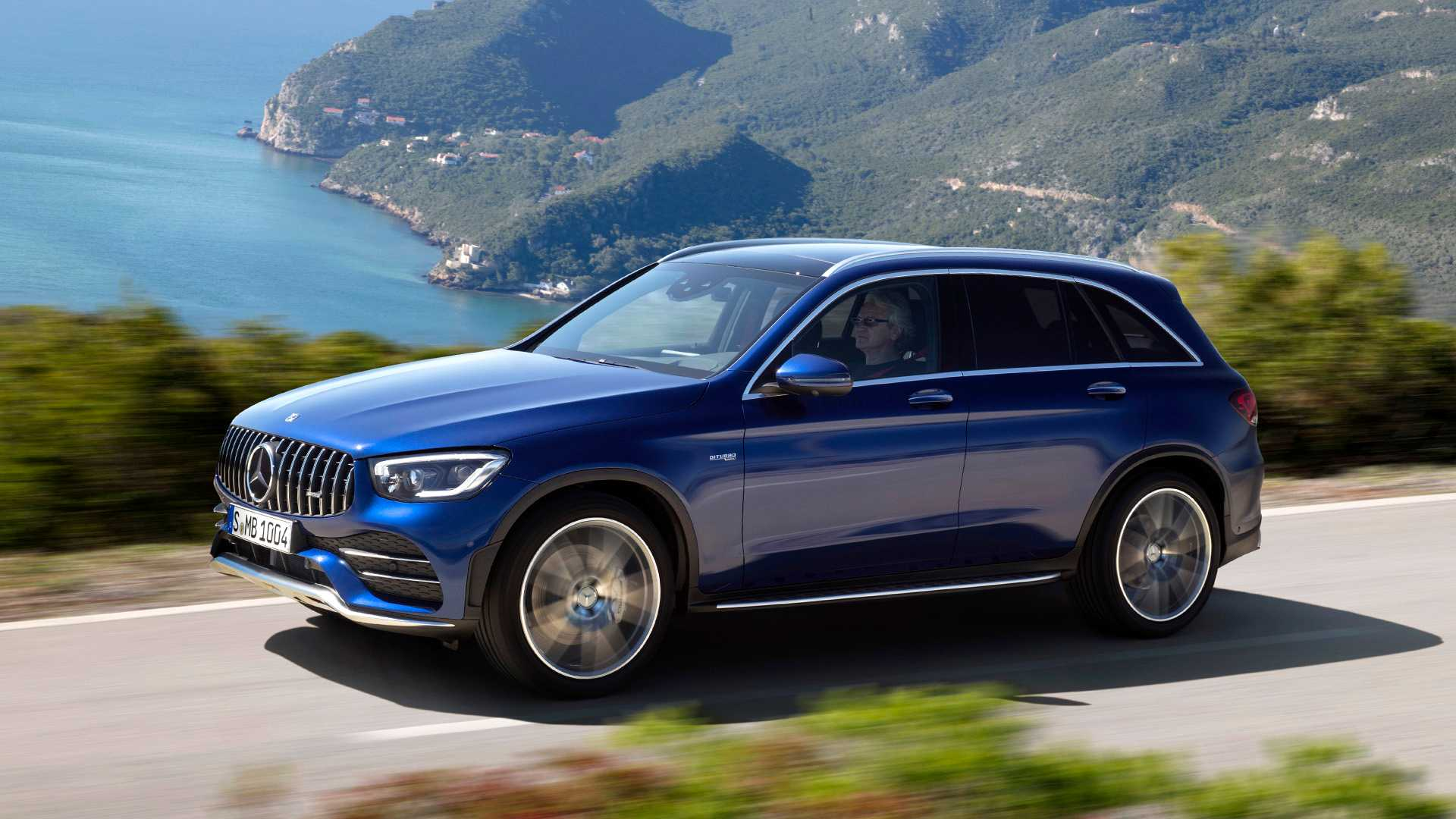 2020 Mercedes-AMG GLC 43 4MATIC Front Three-Quarter Wallpapers (3)