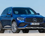 2020 Mercedes-AMG GLC 43 4MATIC Front Wallpapers 150x120 (8)