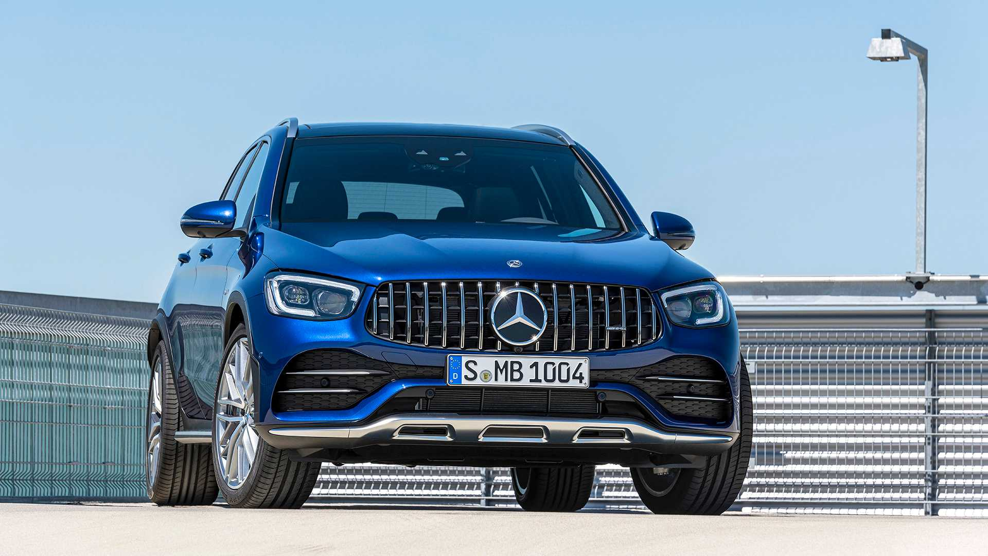 2020 Mercedes-AMG GLC 43 4MATIC Front Wallpapers (7)