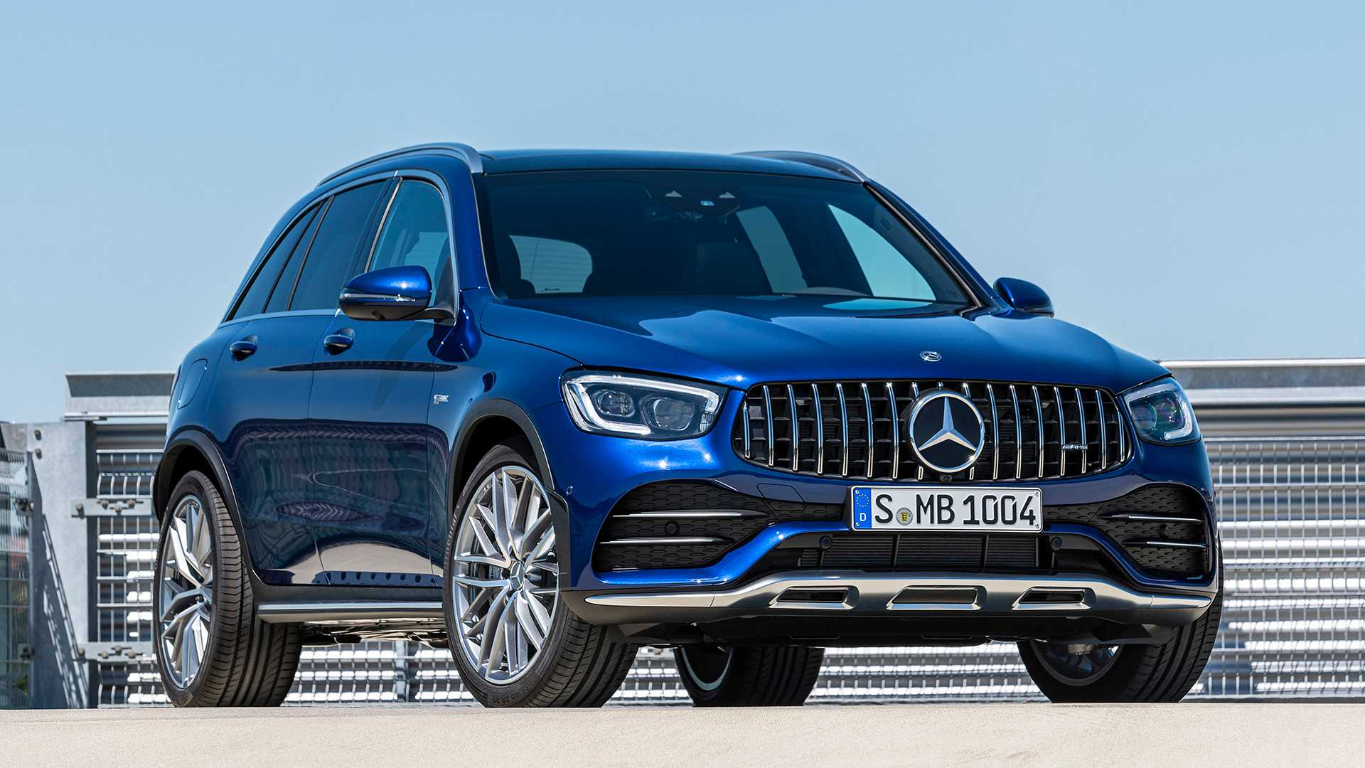 2020 Mercedes-AMG GLC 43 4MATIC Front Wallpapers (8)