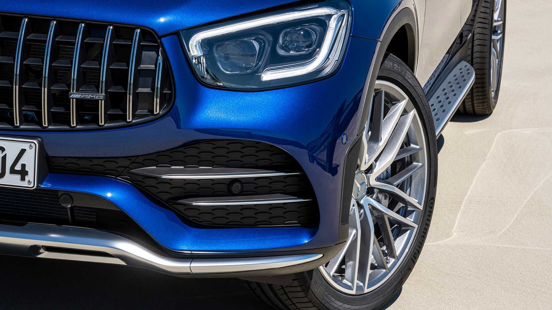 2020 Mercedes-AMG GLC 43 4MATIC Grill Wallpapers (13)