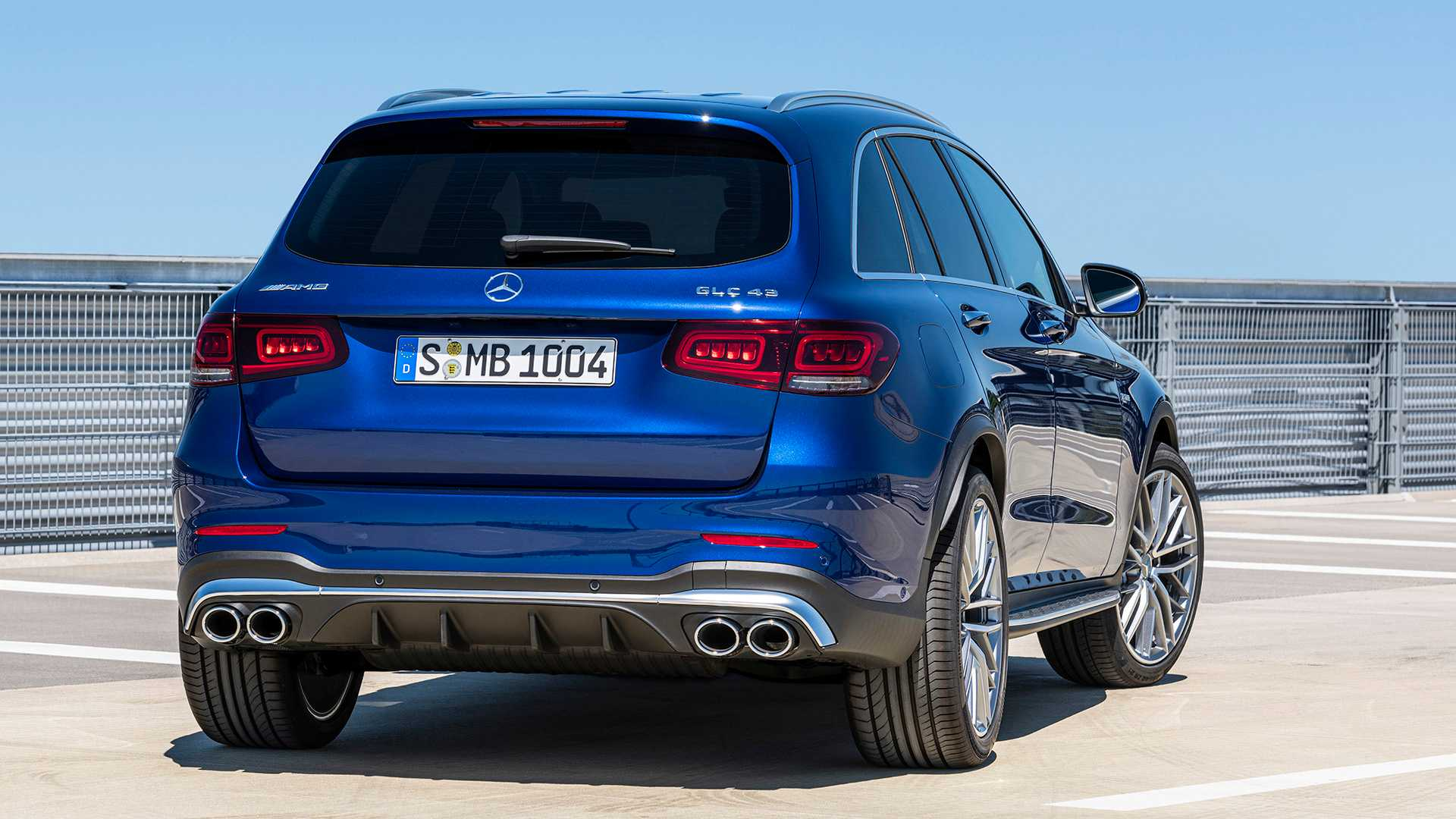2020 Mercedes-AMG GLC 43 4MATIC Rear Wallpapers (9)