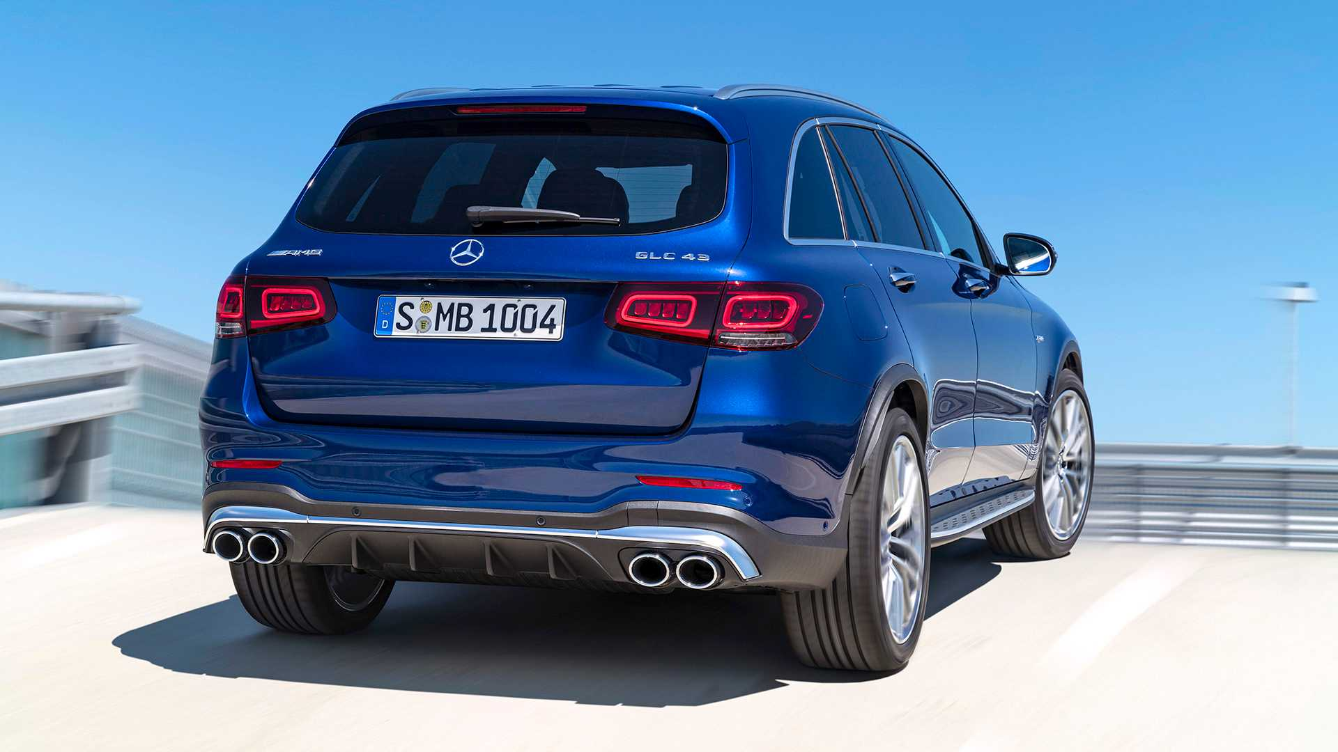 2020 Mercedes-AMG GLC 43 4MATIC Rear Wallpapers (10)