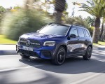 2020 Mercedes-Benz GLB 220 d 4MATIC (Color: Galaxy Blue Metallic) Front Three-Quarter Wallpapers 150x120 (2)