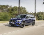 2020 Mercedes-Benz GLB 220 d 4MATIC (Color: Galaxy Blue Metallic) Front Three-Quarter Wallpapers 150x120 (3)