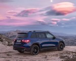 2020 Mercedes-Benz GLB 220 d 4MATIC (Color: Galaxy Blue Metallic) Rear Three-Quarter Wallpapers 150x120 (8)