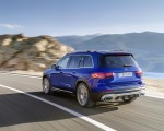 2020 Mercedes-Benz GLB 250 AMG Line (Color: Galaxy Blue) Rear Three-Quarter Wallpapers 150x120 (27)
