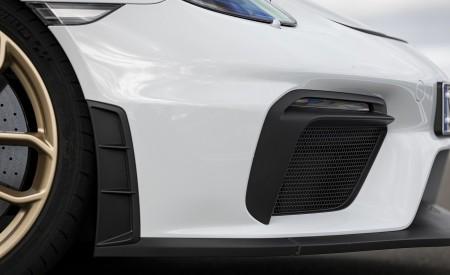 2020 Porsche 718 Cayman GT4 (Color: Carrara White Metallic) Detail Wallpapers 450x275 (151)