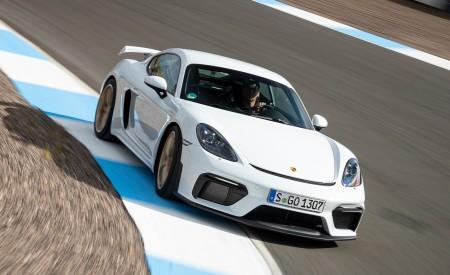 2020 Porsche 718 Cayman GT4 (Color: Carrara White Metallic) Front Wallpapers 450x275 (142)