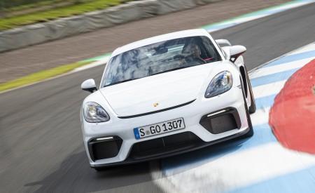 2020 Porsche 718 Cayman GT4 (Color: Carrara White Metallic) Front Wallpapers 450x275 (143)
