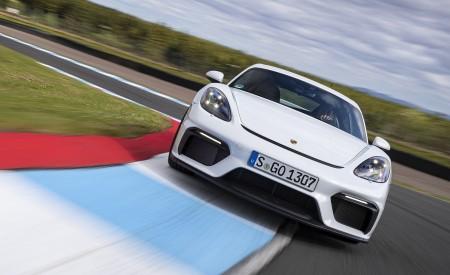 2020 Porsche 718 Cayman GT4 (Color: Carrara White Metallic) Front Wallpapers 450x275 (144)