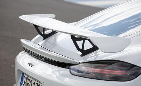 2020 Porsche 718 Cayman GT4 (Color: Carrara White Metallic) Spoiler Wallpapers 450x275 (154)