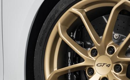 2020 Porsche 718 Cayman GT4 (Color: Carrara White Metallic) Wheel Wallpapers 450x275 (156)