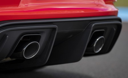 2020 Porsche 718 Cayman GT4 (Color: Guards Red) Exhaust Wallpapers 450x275 (34)