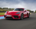 2020 Porsche 718 Cayman GT4 (Color: Guards Red) Front Three-Quarter Wallpapers 150x120 (22)